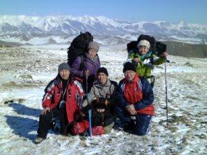 Альпинисты Тувинского госуниверситета покорили Монгун-Тайгу