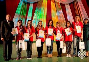 Школьники из Тувы приняли участие во Всероссийской предметной олимпиаде старшеклассников