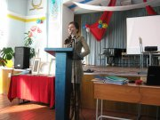 В Кызылском колледже искусств прошла студенческая научная конференция