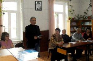 В Национальной библиотеке Тувы прошел литературный салон по творчеству Михаила Дуюнгара