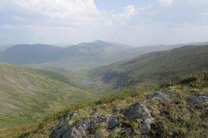 На границе Хакасии и Тувы. Фото автора