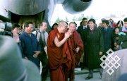 К 20-летию посещения Тувы Его Святейшеством Далай-ламой XIV