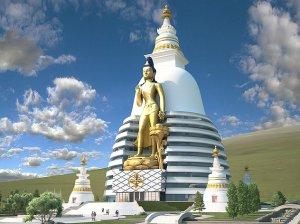 В Монголии возводится грандиозный комплекс «Великий Майтрея»