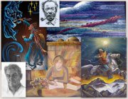 Художники Тувы празднуют 45-летие отделения изобразительного искусства и дизайна Кызылского колледжа искусства