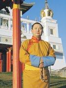Верховный лама Калмыкии Тэло Тулку Ринпоче награжден медалью Тувы «За доблестный труд»