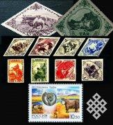 К 100-летию единения России и Тувы будет издана серия государственных знаков почтовой оплаты