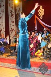 Национальный оркестр Тувы выехал в Москву в полном составе