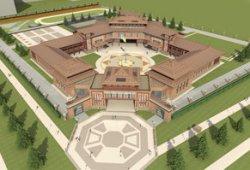 Разработана архитектурная концепция Кадетского корпуса Тувы