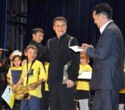 В Туве появится детский духовой оркестр