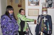 На тувинской выставке в Курагино костюм шамана... оживал