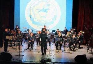 Тимур и его команда. Духовой оркестр Тувы отметил 5-летие