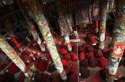 Larung Gar - крупнейший институт в мире по изучению буддизма