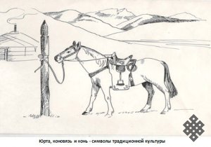 Юрта в тувинской традиционной культуре