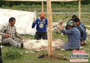 Тувинцы в Туве