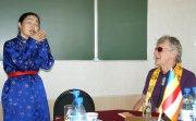 В Центре буддологии и тибетологии ТувГУ состоялась встреча с Робертом Турманом
