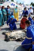В столице Тувы проходит Международный фестиваль «Узоры жизни на войлоке»