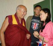 В Центре буддологии и тибетологии ТувГУ состоялась встреча с геше Лхакдором