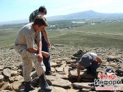 Тува - рай для археологов
