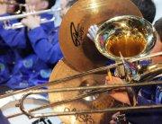 В Краснодарском крае проходят гастроли духового оркестра из Тувы
