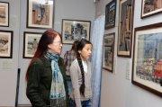 В Национальном музее Тувы открылась выставка «Время, меняющее город…»