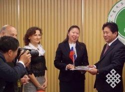 Визит делегации Тувинского госуниверситета в Китай