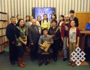 Валентина Сузукей рассказала об особенностях тувинской музыкальной культуры молодежи МСО «Идегел» (Новосибирск)
