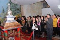 Памятник тувинской письменности открыли сегодня в столице Тувы