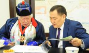 Монгуш Кенин-Лопсан получил орден «Буян-Бадыргы» I степени