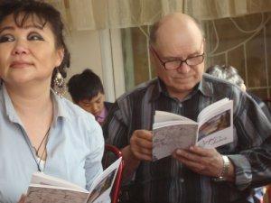 """В Кызыле состоялась презентация книги """"Озеро света"""" Леонида Чадамба"""