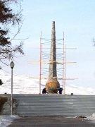 Главный памятник Тувы перенесут на новое место по решению общественности