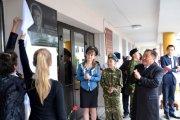 В школе № 3 г. Кызыла открылась мемориальная доска Тулуша Кечил-оола