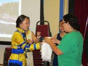 В международном языковом лагере Concordia Language Villages (США) прошел День тувинской культуры
