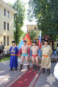 В Москве прошел монгольский Наадам-2014