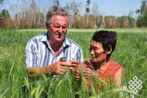 Развитие аграрной науки в Туве