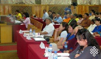 Международная научная конференция «Жизнь и деятельность Джалхандза-хутухты» (24 июля 2014 г., Монголия)