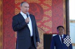 В Туве отметили 100-летие единения республики с Россией