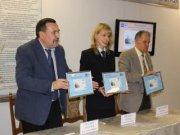 В Хакасии погашена почтовая карточка к 90-летию Леонида Кызласова