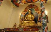 На Поклонной горе в Москве в основании будущего буддийского храма заложен гранитный камень