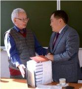 Доктор исторических наук Николай Абаев отмечает 65-летие