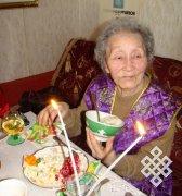 Наталья Ажыкмаа-Рушева отметила 88-летие