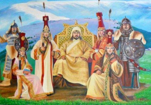 Образование монгольского рода борджигин