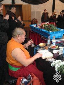 В Москве прошла церемония прощания с Натальей Дойдаловной Ажикмаа-Рушевой