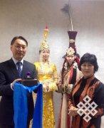 Вячеслав Донгак приступил к работе Президента Международной академии Моды мировых монголов