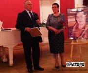 Надежда Красная награждена золотой медалью Фонда Ирины Архиповой