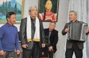 В Национальном музее Тувы открылась выставка «Посвящение родной Туве» трех художников Олега Суван-оола, Юрия Ооржака и Юрия Тойбухаа