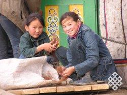 Ребенок в тувинской культуре