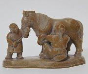 В Национальном музее Тувы открывается выставка камнереза Дондука Дойбухаа