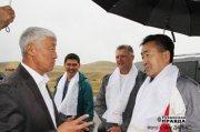 Парламентская делегация Государственного Собрания - Эл Курултая Республики Алтай в Туве обсуждает вопросы горлового пения