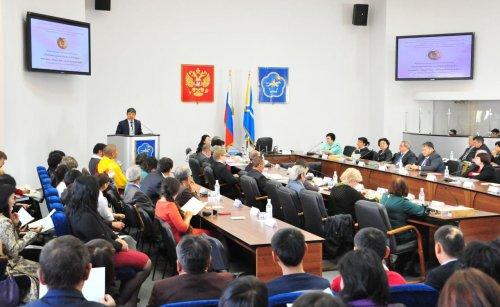 В Кызыле прошла Международная научная конференция «Гуманитарные науки в XXI веке: человек, общество, глобальный мир», посвященная 70-летию ТНИИЯЛИ-ТИГПИ