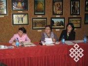 В Национальном музее Тувы обсуждали традиции воспитания у тувинцев